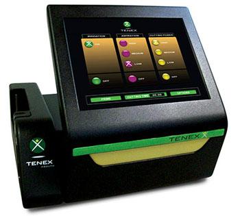 Image: The Tenex Health TX system console (Photo courtesy of Tenex Health).