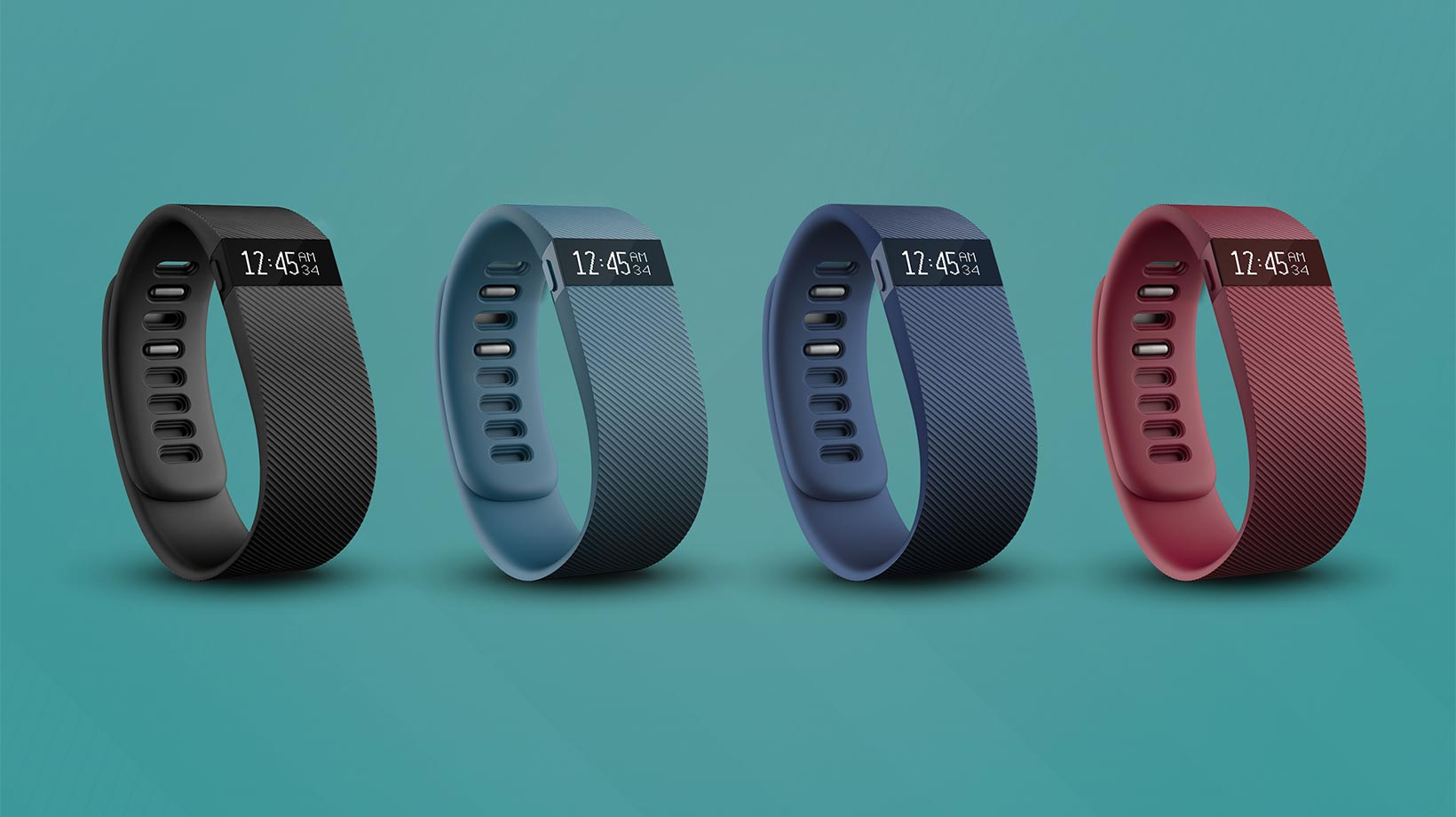 The Fitbit Charge HR activity wristband (Photo courtesy of Fitbit).