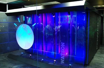 Image: The IBM Watson healthcare platform (Photo courtesy of IBM).