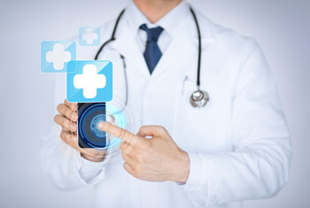 Image: Symptom-checker apps cannot match doctors in diagnosis (Photo courtesy of Shutterstock).
