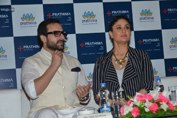 Image: Ambassadors Saif Ali Khan and Karina Kapoor at the launch of the expansion project (Photo courtesy of KVS GIRI).