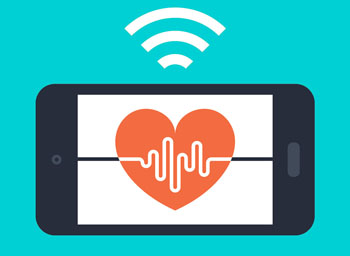 Image: A hand-held wireless single lead heart monitor (ECG) and smartphone app could be used to test for potentially fatal atrial fibrillation (AF), according to a new study (Photo courtesy of Princess Margaret Hospital).
