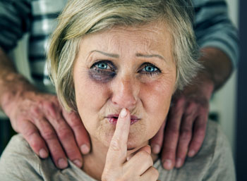 Image: Elderly abuse is widely under-diagnosed (Photo courtesy of Shutterstock).