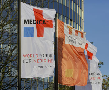Image: MEDICA and COMPAMED 2016 open in Düsseldorf (Photo courtesy of MEDICA).