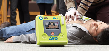 Image: The ZOLL AED 3 with Enhanced Real CPR (Photo courtesy of ZOLL).