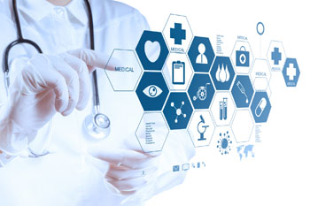 Image: The recent MEDICA trade show served to provide a boost to the medical technology industry (Photo courtesy of Shutterstock).
