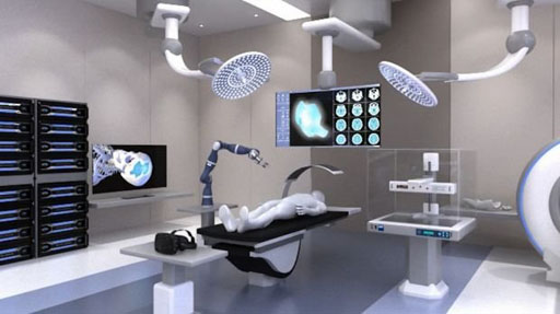 Image: A computer simulation of the Biofabrication Institute (Photo courtesy of QUT).