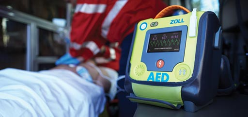 Image: ZOLL Medical displayed an expanded portfolio of resuscitation and critical care products and technologies at Arab Health 2017 (Photo courtesy of ZOLL Medical).