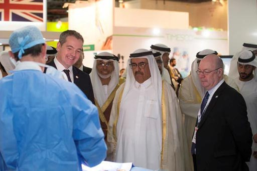 Image: Consultants from the Royal Brompton & Harefield Hospitals performed surgery at the UK pavilion during Arab Health 2017 (Photo courtesy of Royal Brompton & Harefield Hospitals).