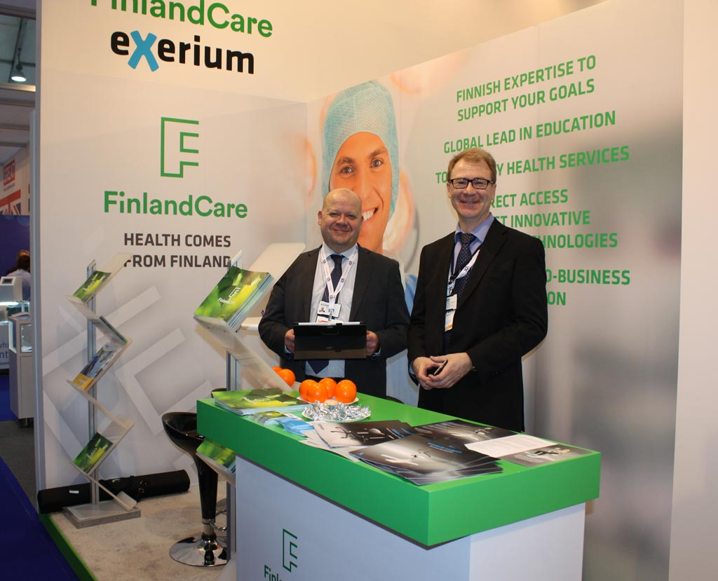 Image: Finland presented new technologies and innovations at Arab Health 2017 (Photo courtesy of Finpro / Team Finland).