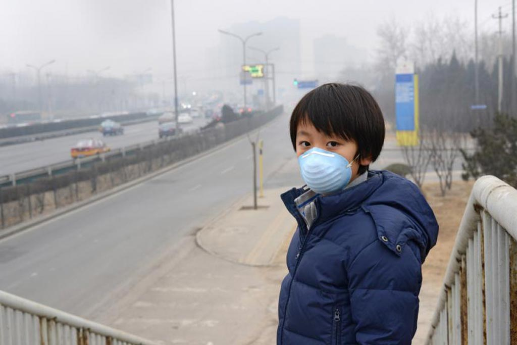 Image: Air pollution in China is much higher than in western countries (Photo courtesy of Shutterstock).