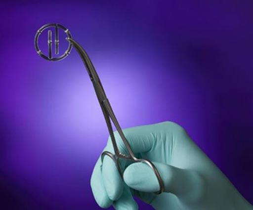 Image: The BioZorb LP device (Photo courtesy of Focal Therapeutics).