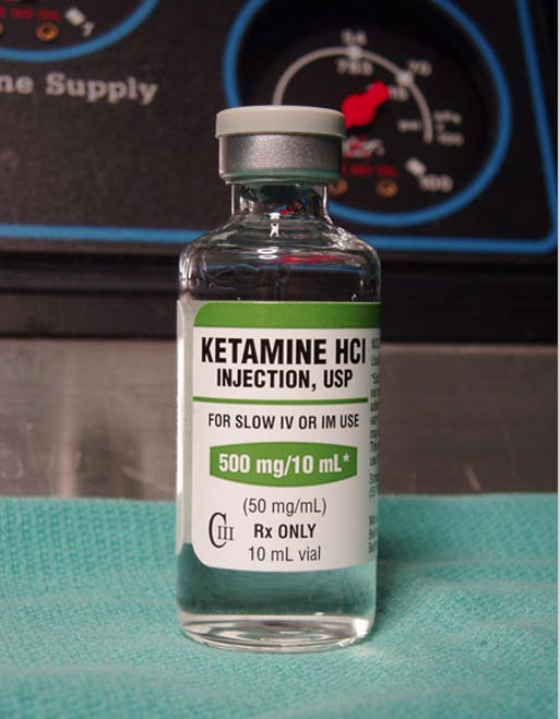 Image: A new study concluded ketamine fails to show beneficial effect on pain and delirium (Photo courtesy of Erowid).