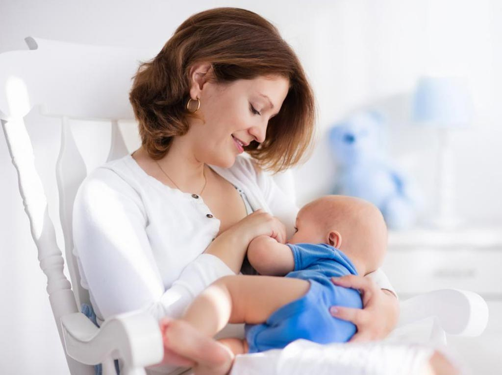 Image: A new study shows breastfeeding reduces chronic pain after Caesarean delivery (Photo courtesy of Getty Images).