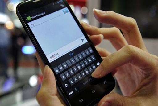 Image: A new study suggests heavy cell phone use can lead to carpal tunnel syndrome (Photo courtesy of Getty Images).