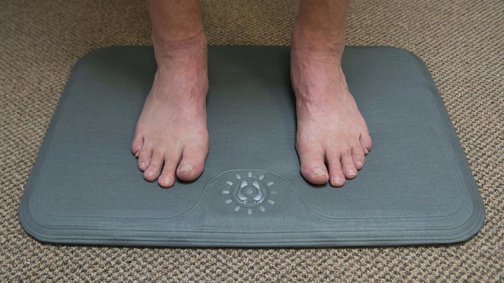 Image: The SmartMat, a part of the Remote Temperature Monitoring System (Photo courtesy of Podimetrics).