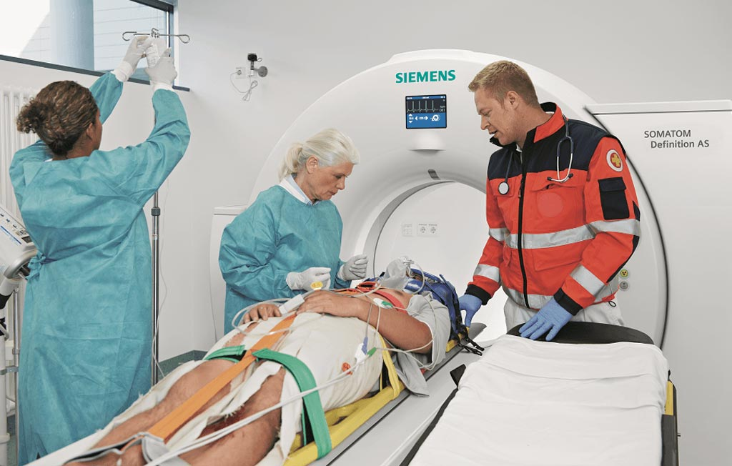 Image: A new study shows decision support software can help ED clinicians determine the need for a CT (Photo courtesy of Siemens Healthcare).