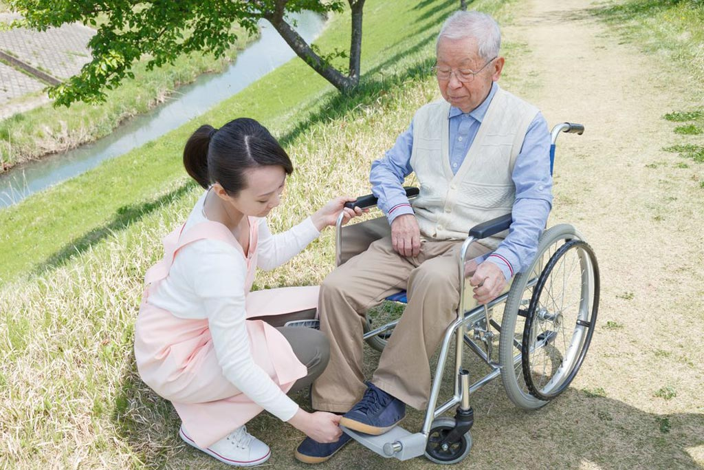 Image: Research shows more adults in their twilight years are dependent on caregivers (Photo courtesy of ShutterStock).
