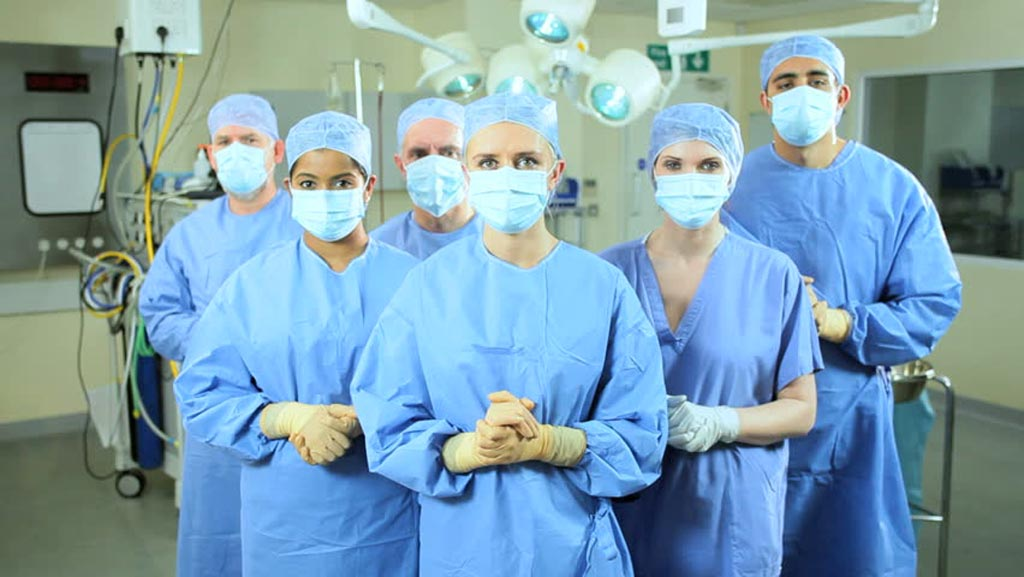 Image: A new study suggests even antimicrobial scrubs are not enough to combat infection (Photo courtesy of Shutterstock).