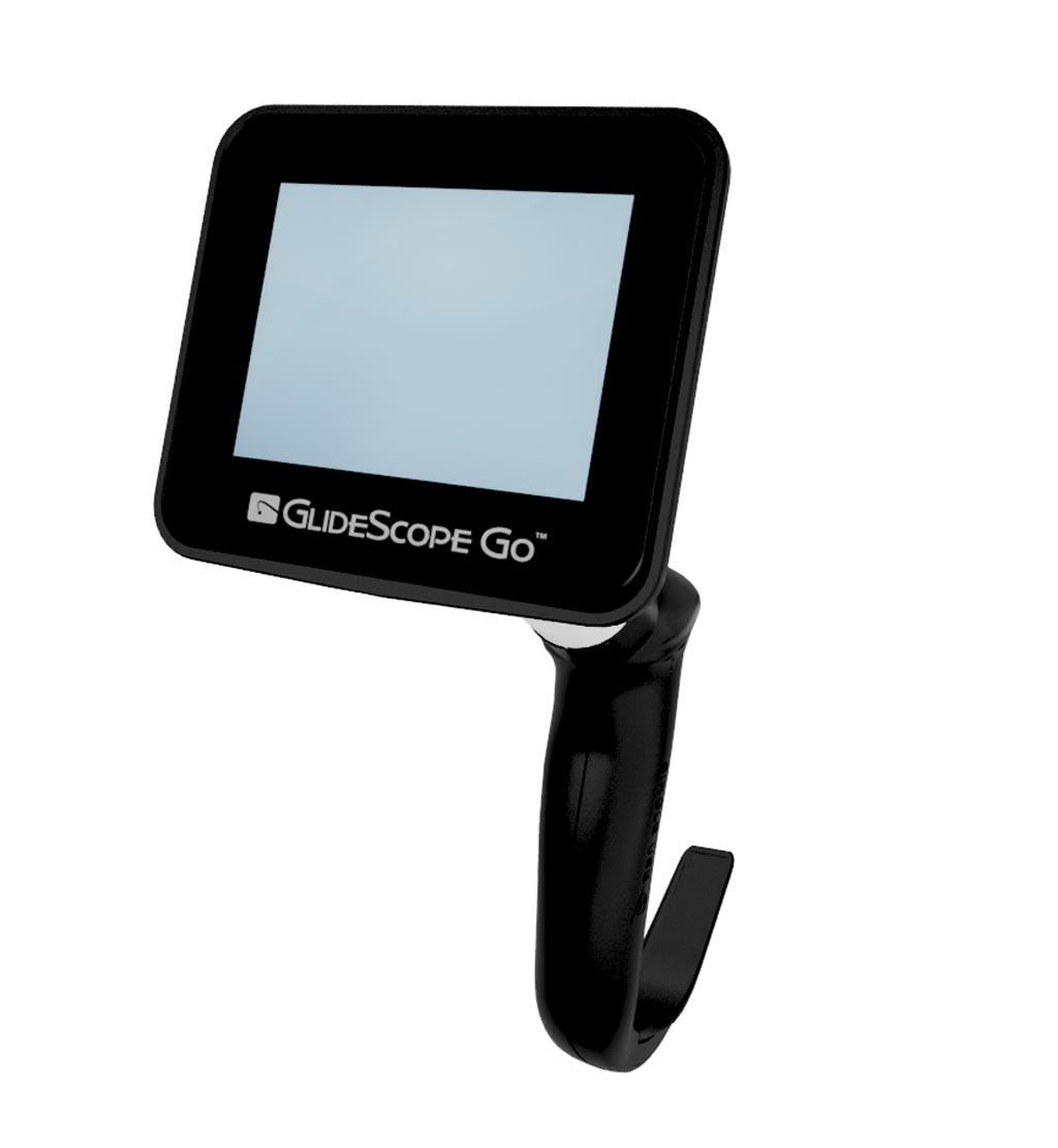 Image: The GlideScope Go video laryngoscope system (Photo courtesy of Verathon).