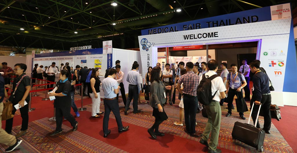 Image: MEDICAL FAIR THAILAND 2017 proved to be a record-breaking edition, evidencing the region's fast-growing healthcare industry (Photo courtesy of MEDICAL FAIR THAILAND).
