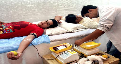 Image: A new study claims donating blood every two months is completely safe (Photo courtesy of blooddonations.org).