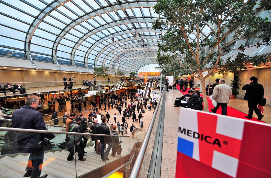 Image: At MEDICA 2017, over 5,000 exhibitors from 68 countries will gather in Düsseldorf, Germany for the four-day trade fair (Photo courtesy of MEDICA).