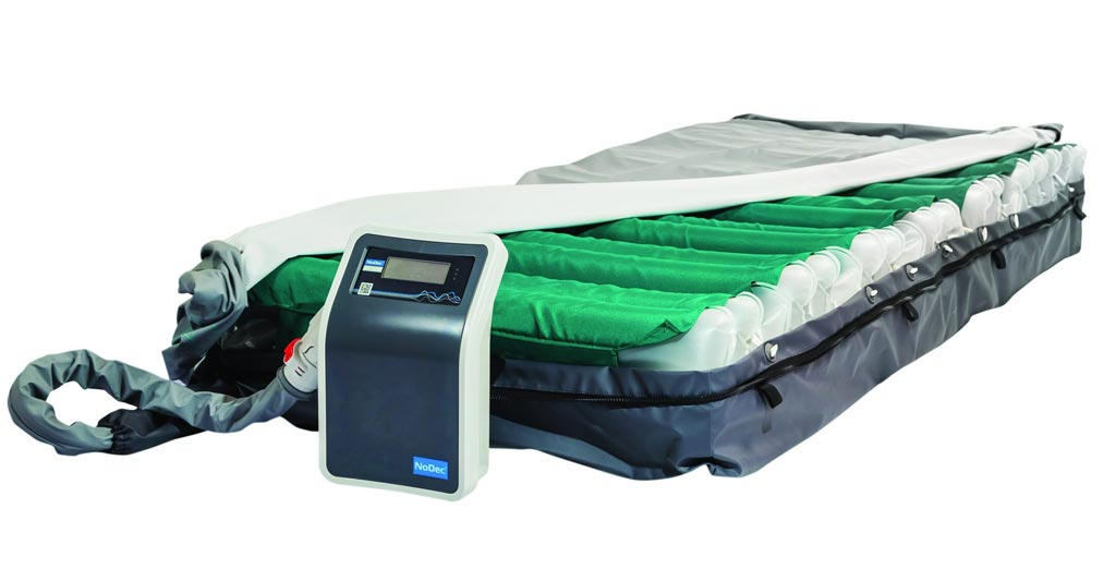 Image: The WIZARD intensive care pressure ulcer mattress (Photo courtesy of Rober).