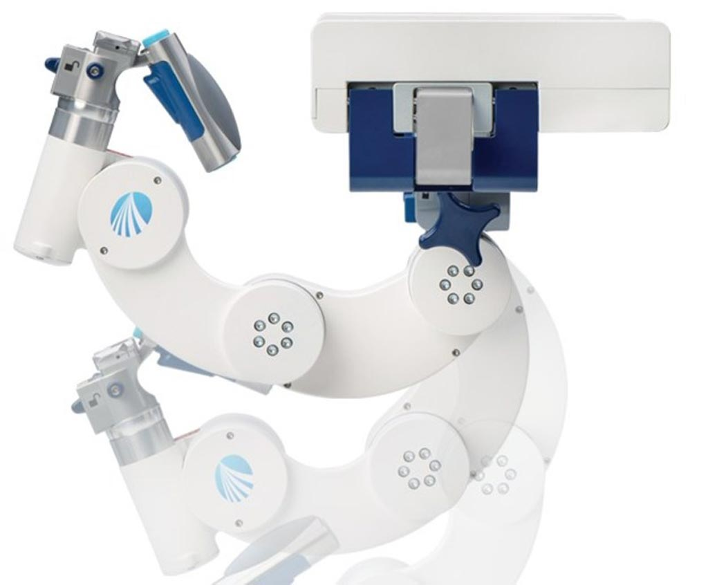 Image: The new head positioning system is designed to facilitate spine procedures (Photo courtesy of Mizuho OSI).