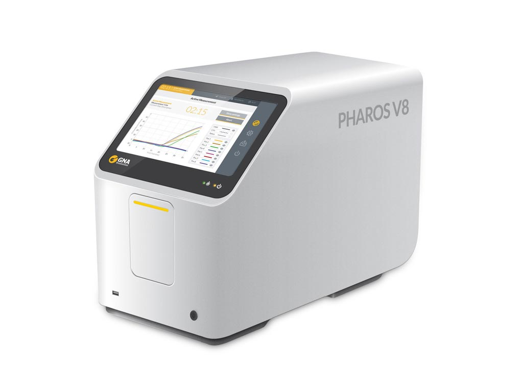 Image: The Pharos V8 laser PCR platform (Photo courtesy of GNA Biosolutions).