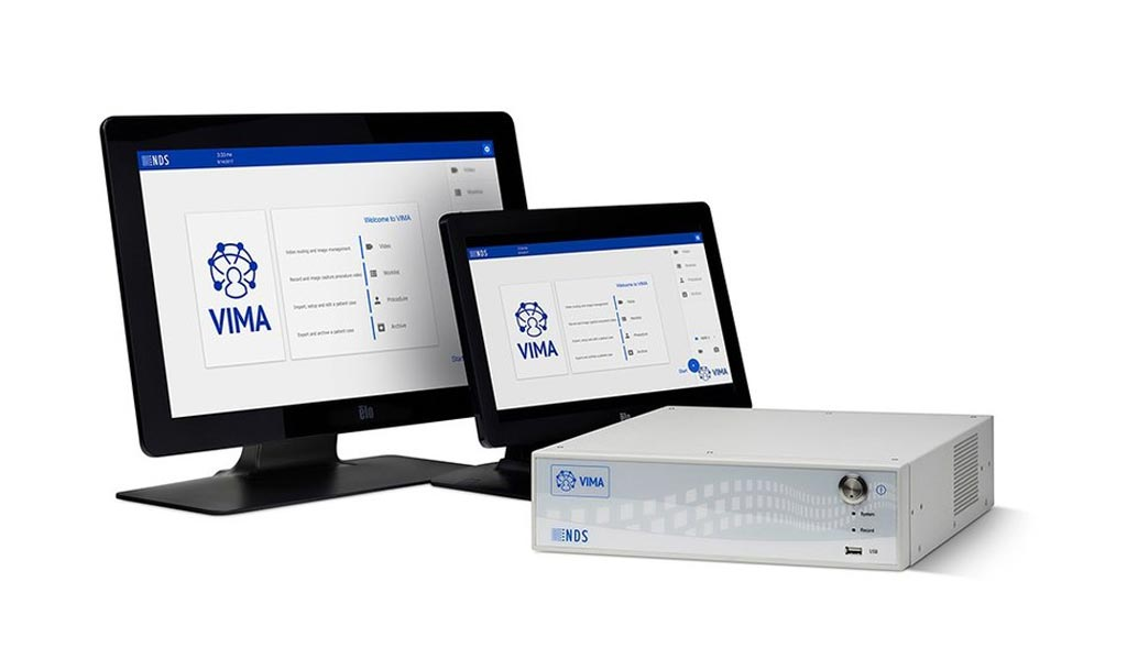 Image: The VIMA integrated operating room (OR) networking solution (Photo courtesy of NDS Surgical Imaging).
