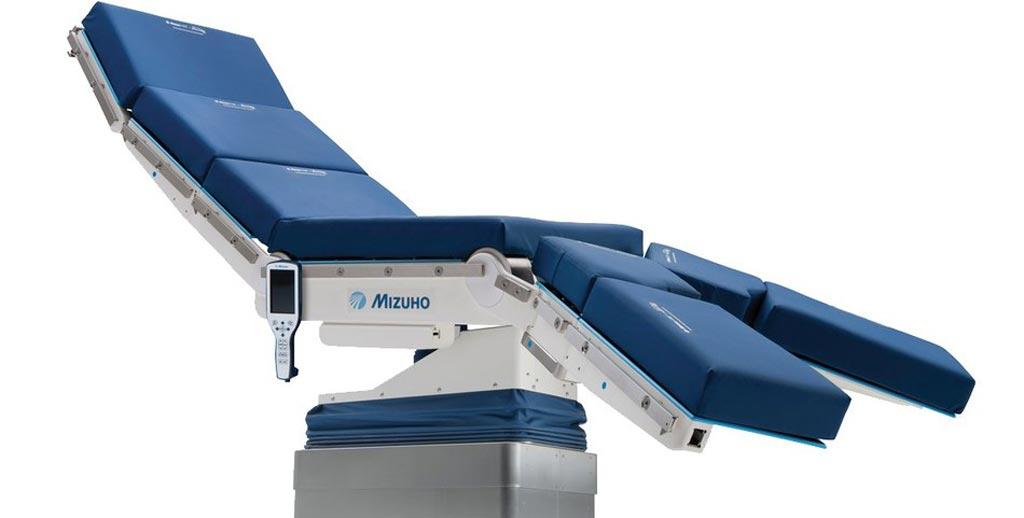Image: The Zentrum i3 intelligent surgical table (Photo courtesy of Mizuho OSI).
