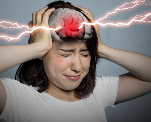 Image: A new study shows most massive headaches do not result from cerebral hemorrhage (Photo courtesy of iStockPhoto).