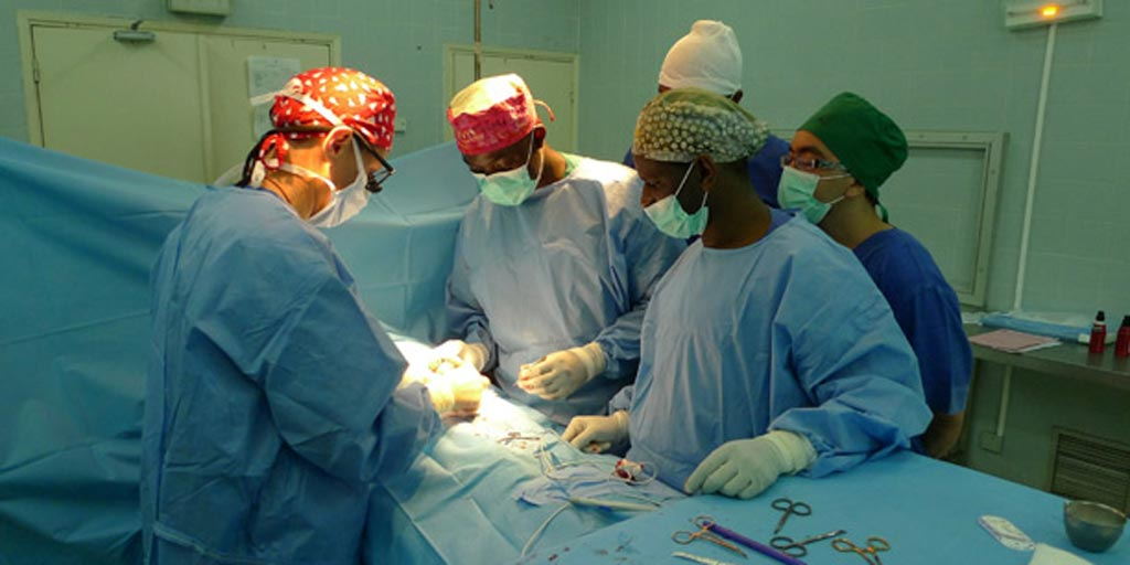 Image: Low-resource hospitals, such as this one in Senegal, contribute to Africa's higher surgical death rate (Photo courtesy of IvuMed).