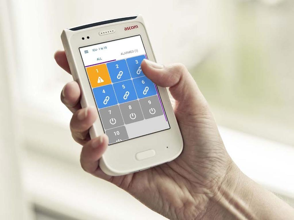 Image: The Digistat suite offers a wide range of applications for caregivers (Photo courtesy of Ascom).