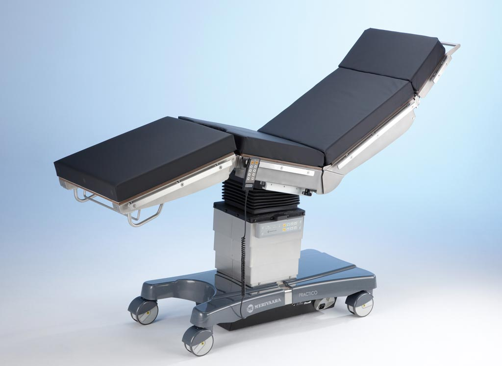 Image: Merivaara showcased the Practico family of surgical tables at Arab Health 2018 (Photo courtesy of Merivaara).