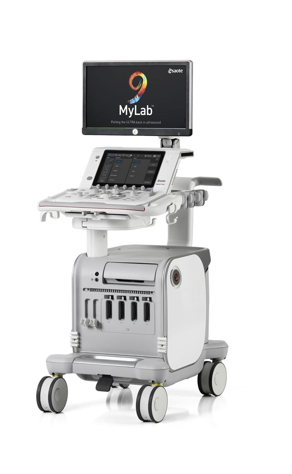 Image: The MyLab 9 eXP ultrasound system (Photo courtesy of Esaote).