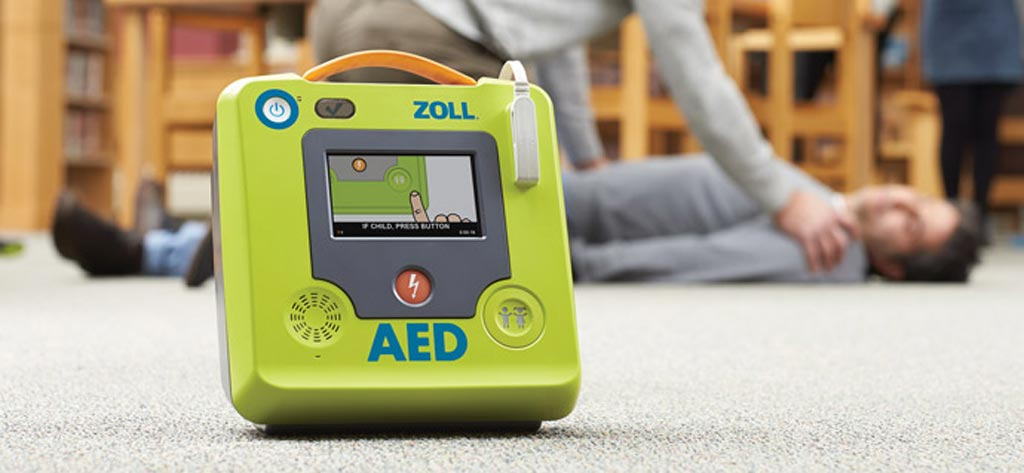 Image: The AED 3, displayed as part of ZOLL's product portfolio (Photo courtesy of ZOLL).