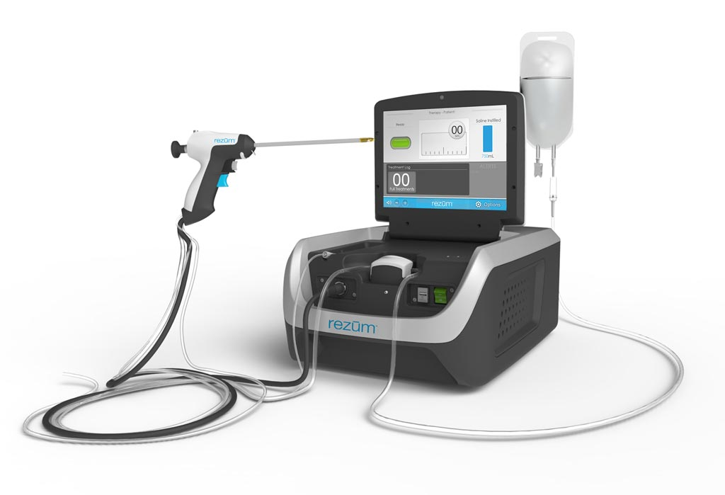 Image: Transurethral vapor technology treats benign prostate hyperplasia (Photo courtesy of NxThera).