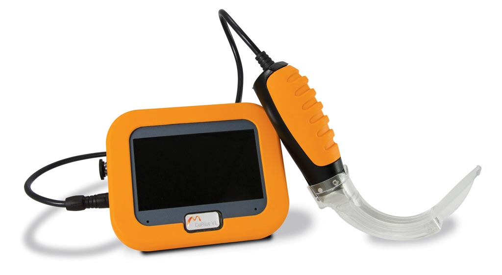 Image: The CoPilot VL+ video laryngoscope (Photo courtesy of Dilon Technologies).