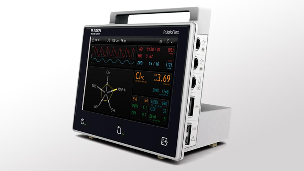 Image: The Maquet PulsioFlex is designed as a flexible platform for hemodynamic monitoring, adaptable to the patient\'s individual needs (Photo courtesy of Getinge).