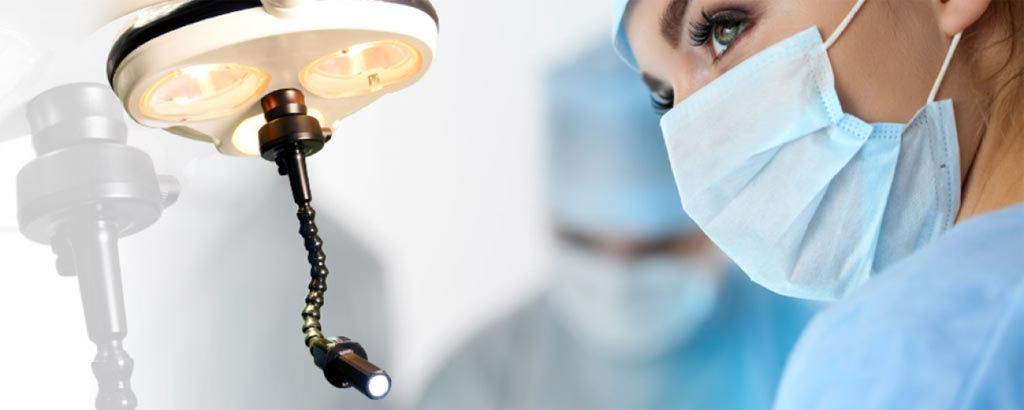 Image: A flexible LED lighting solution eliminates shadows in the operating field (Photo courtesy of BihlerMED).