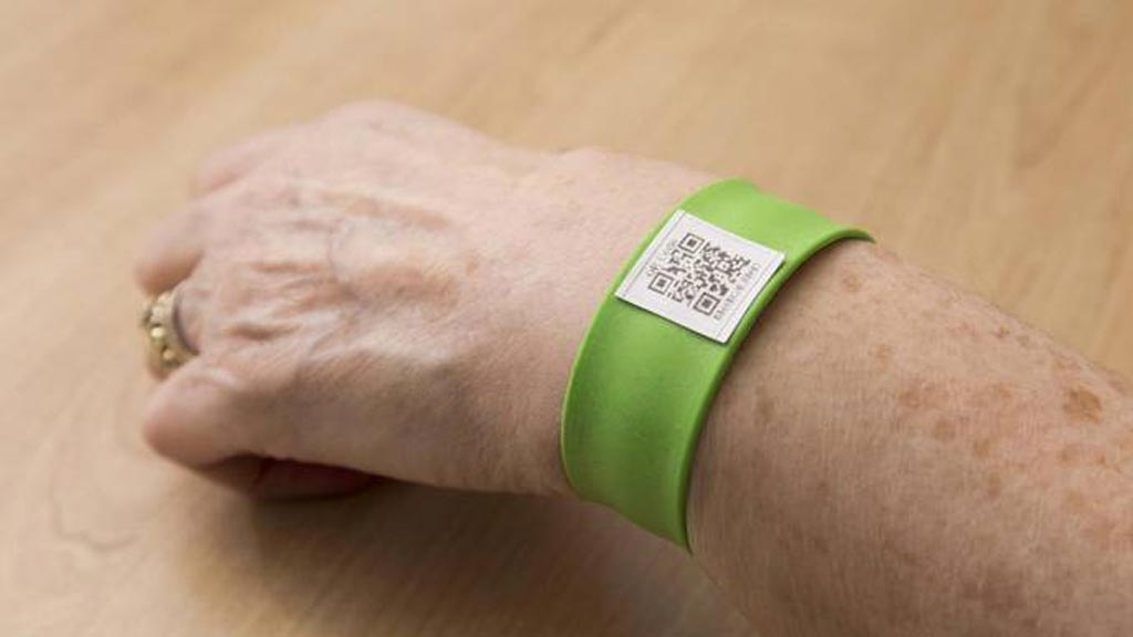 Image: A new study claims quick response coded bracelets protect Addison\'s disease patients (Photo courtesy of Newcastle University).