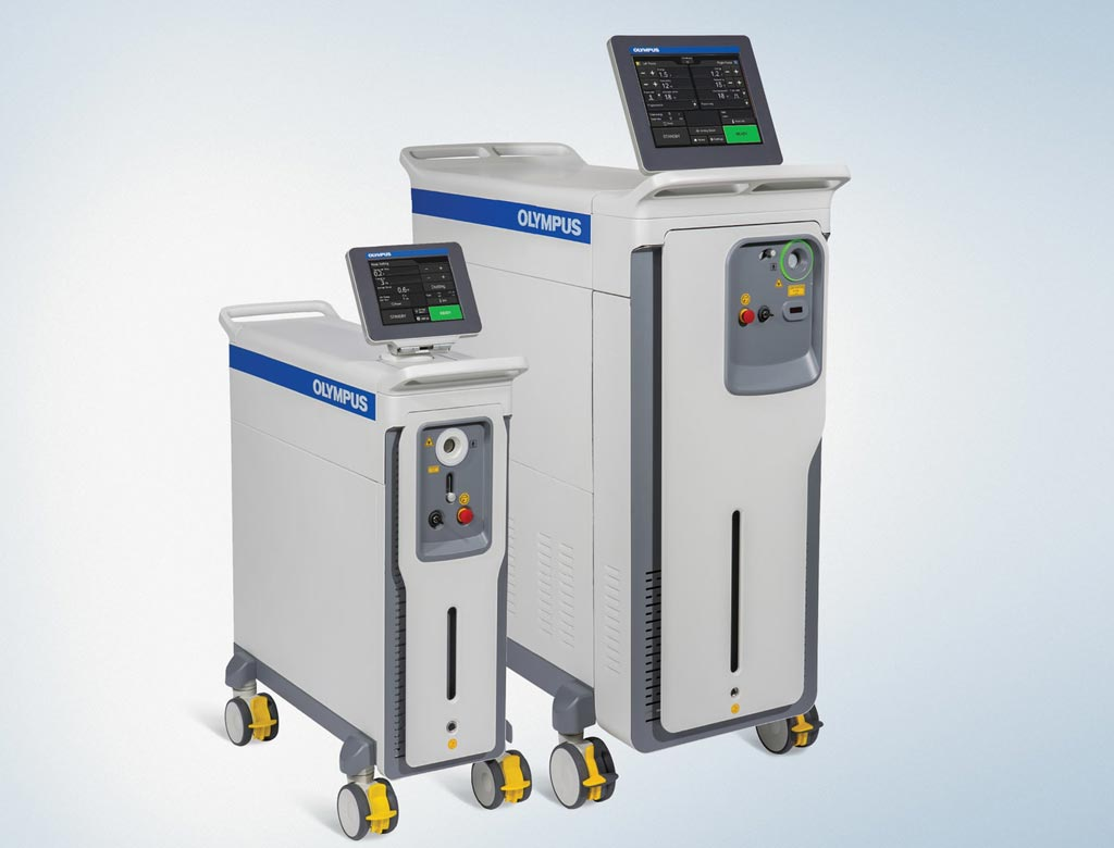 Image: The EMPOWER 35W and 65W laser portfolio line (Photo courtesy of Olympus Medical).