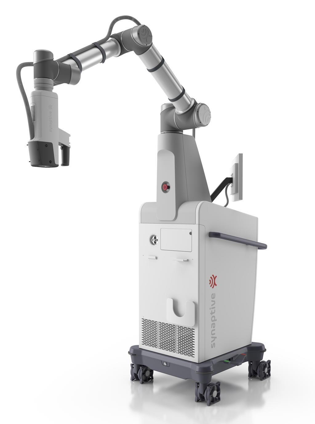Image: The Modus V provides an alternative to the traditional operating microscope featuring an ocular or eyepiece that is commonly used by neurosurgeons to view magnified images of the brain (Photo courtesy of Synaptive Medical).