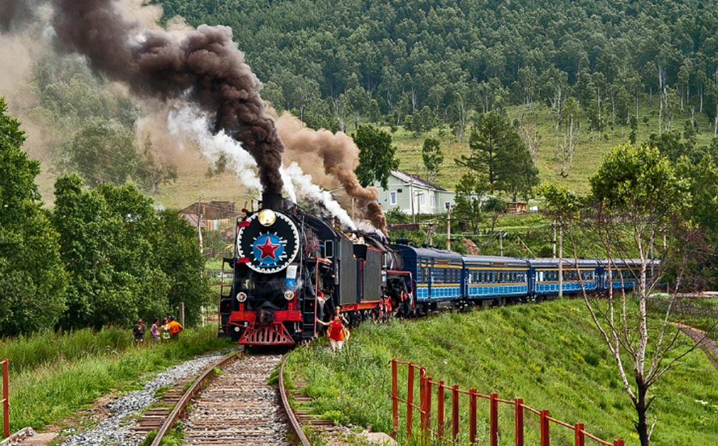 Image: Trans-Siberian trains will soon provide telehealth capabilities (Photo courtesy of RZD).