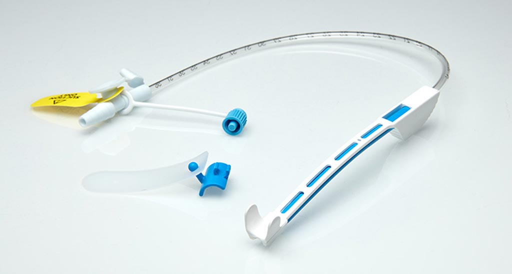 Image: The Tri-Flo subglottic suction system (Photo courtesy of Vyaire Medical).