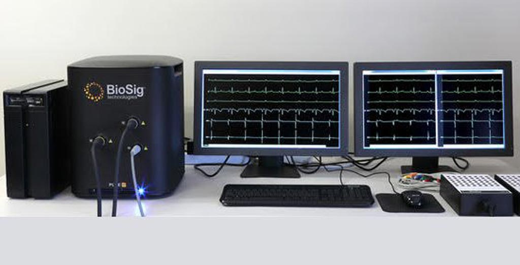 Image: The PURE EP System (Photo courtesy of BioSig Technologies).
