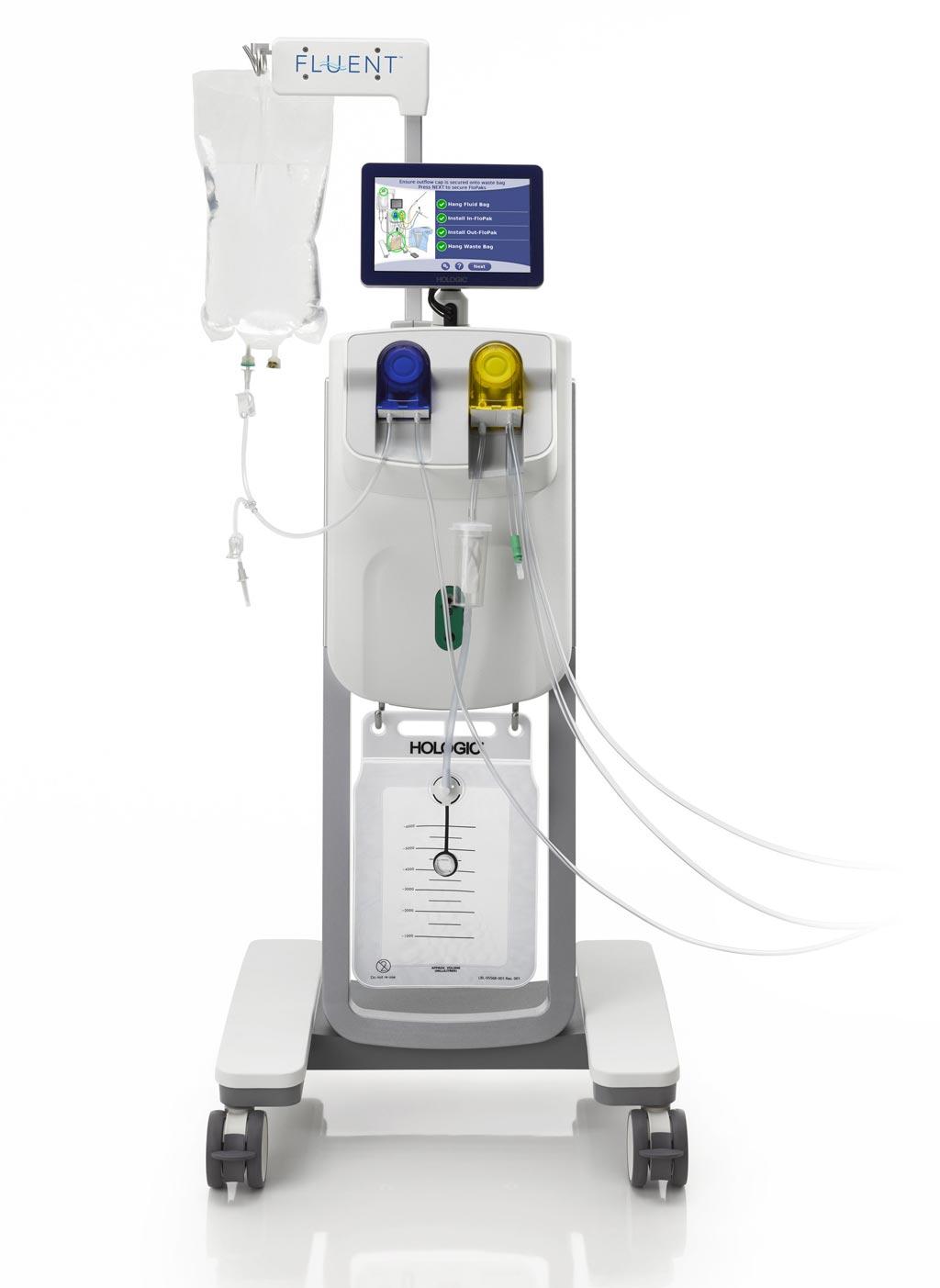 Image: The Fluent fluid management system (Photo courtesy of Hologic).