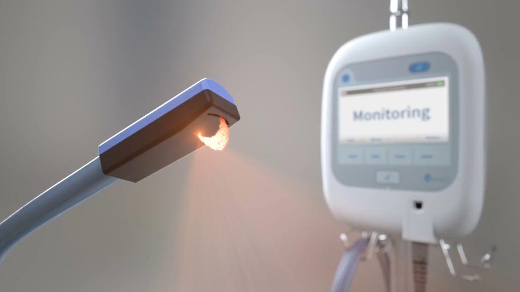 Image: The ivWatch 400 continuous IV monitoring device (Photo courtesy of ivWatch).